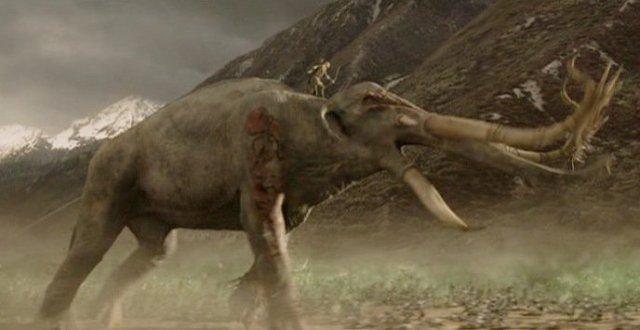 ROTK Legolas vs oliphaunt